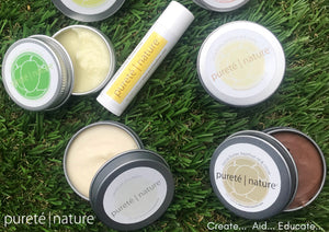 Pureté Nature Lip Balms