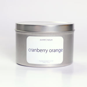 Cranberry, Orange & Cinnamon