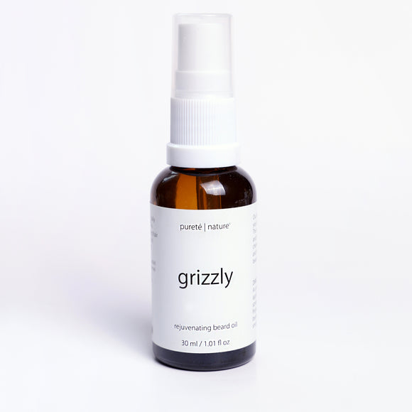 Grizzly Rejuvenating Beard Oil