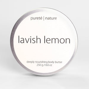 Lavish Lemon Body Butter 250 g