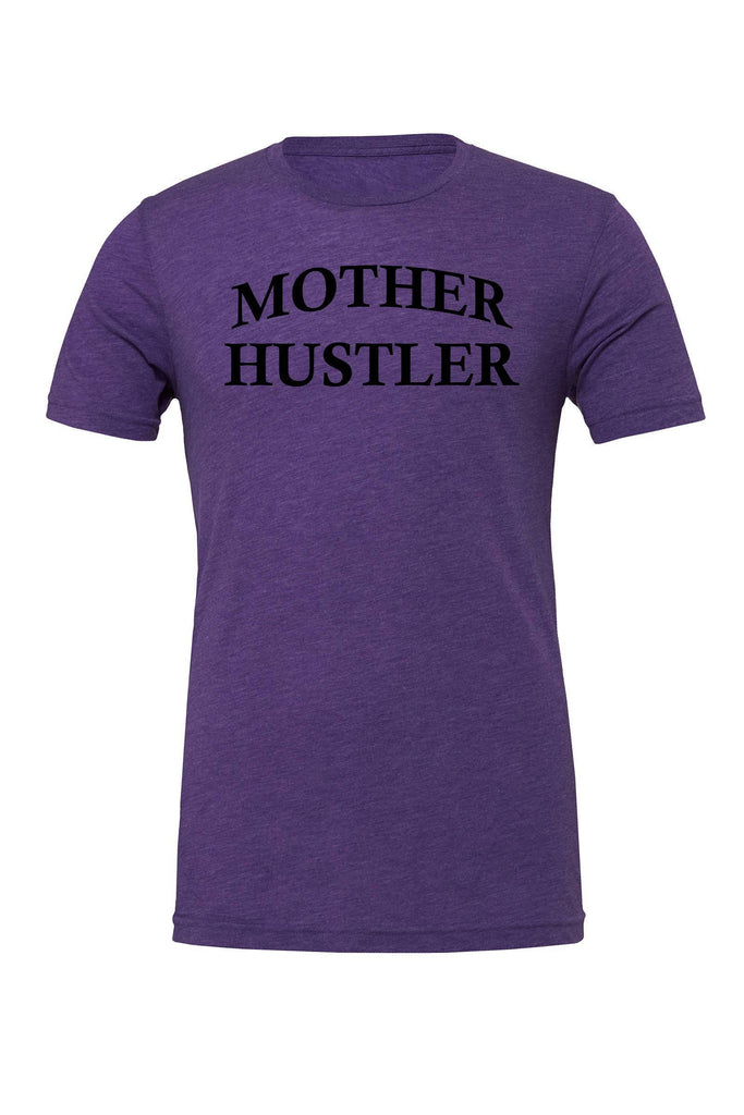 Mother Hustler Tee-T-Shirt-Dylan's Designs Inc-Dylan's Designs Inc