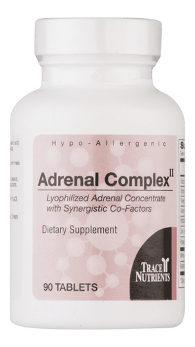 Adrenal Complex - 90 Tablets - Lyophilised Adrenal Concentrate