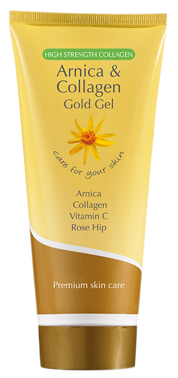 Arnica Gold Gel  - 200ML -  Collagen and Vitamin C