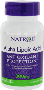 Alpha Lipoic Acid, 300mg - 50 caps