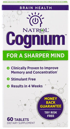 Cognium For Sharped Mind, 100mg - 60 tablets