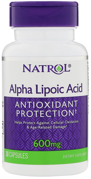Alpha Lipoic Acid, 600mg - 30 caps