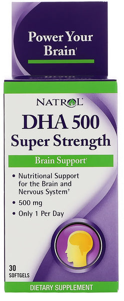 DHA 500, Super Strength - 30 softgels