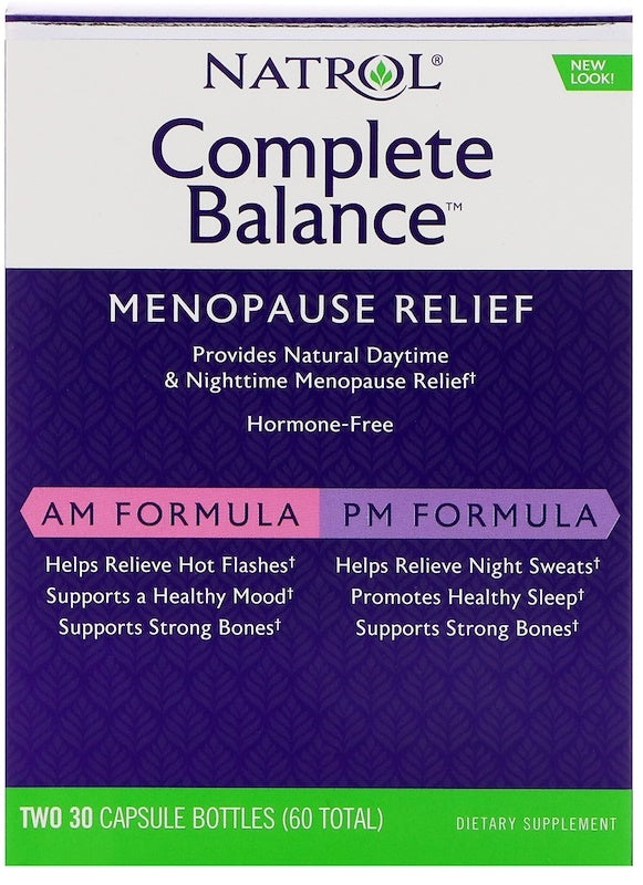 Complete Balance for Menopause, AM/PM - 30 + 30 caps