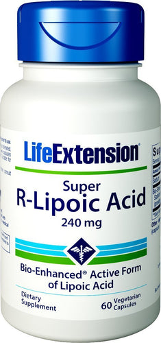 Super R-Lipoic Acid, 240mg - 60 vcaps