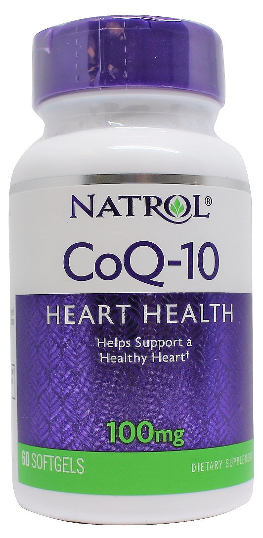 CoQ-10, 100mg - 60 softgels