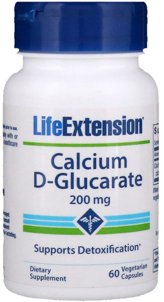 Calcium D-Glucarate, 200mg - 60 vcaps