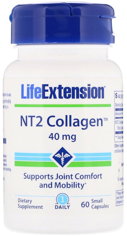 NT2 Collagen, 40mg - 60 small caps