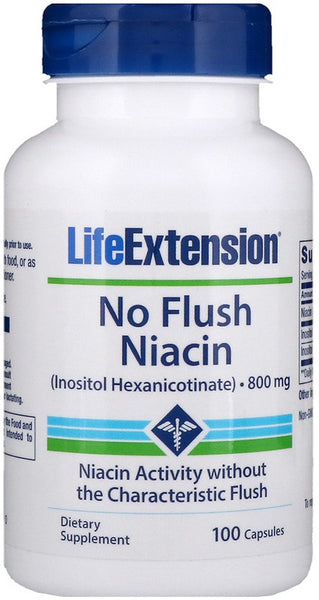 No Flush Niacin, 800mg - 100 caps