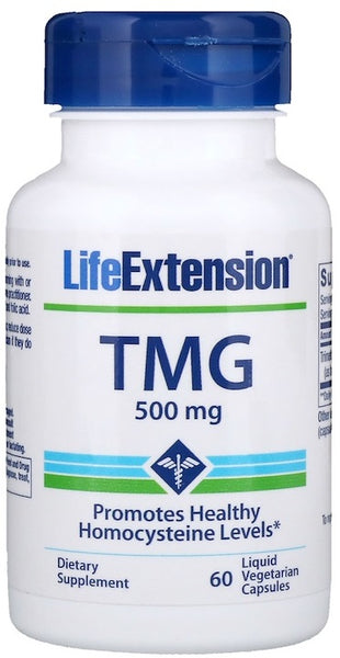 TMG, 500mg - 60 liquid vcaps