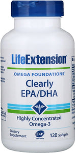 Clearly EPA/DHA - 120 softgels