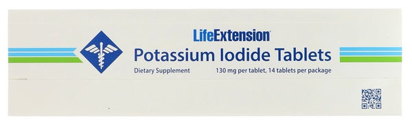 Potassium Iodide Tablets, 130mg - 14 tablets