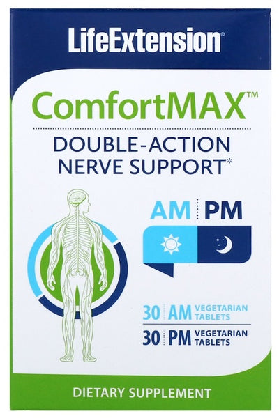 ComfortMax - 30 AM + 30 PM vegetarian tabs