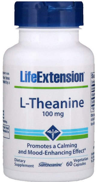 L-Theanine, 100mg - 60 vcaps