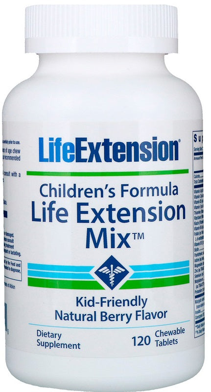 Children's Formula Life Extension Mix, Natural Berry - 120 chewable tabs