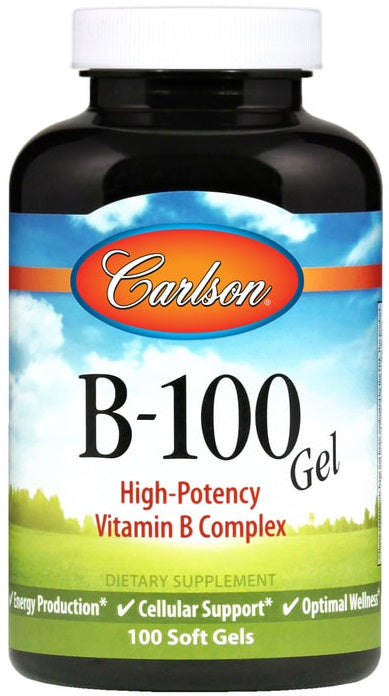 B-100 Gel - 100 softgels