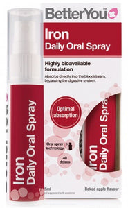 Iron Daily Oral Spray (5mg), Baked Apple - 25 ml.