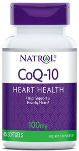 CoQ-10, 100mg - 45 softgels