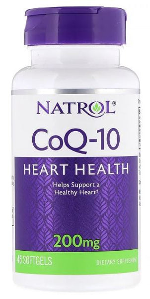 CoQ-10, 200mg - 45 softgels