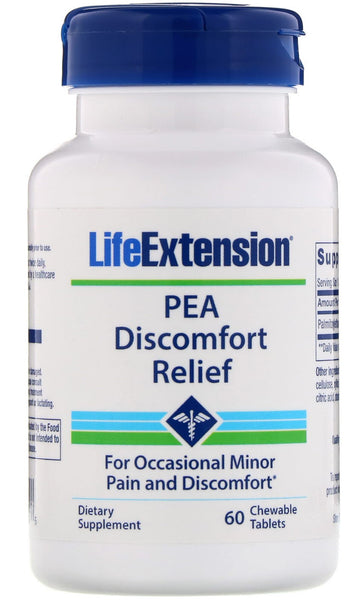 PEA Discomfort Relief - 60 chewable tablets
