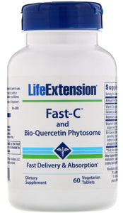Fast-C and Bio-Quercetin Phytosome - 60 vegetarian tabs