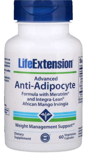 Advanced Anti-Adipocyte Formula with Meratrim and Integra-Lean African Mango Irvingia - 60 vcaps