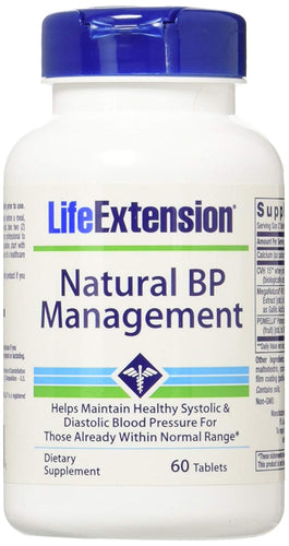 Natural BP Management - 60 tablets
