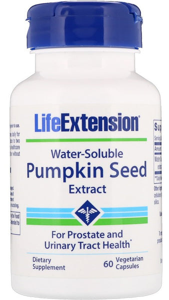 Pumpkin Seed Extract, Water-Soluble - 60 vcaps