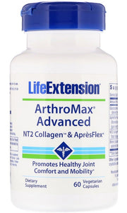 ArthroMax Advanced, NT2 Collagen & ApresFlex - 60 vcaps