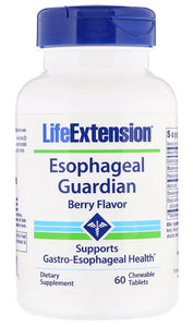 Esophageal Guardian, Berry Flavor - 60 chewable tabs