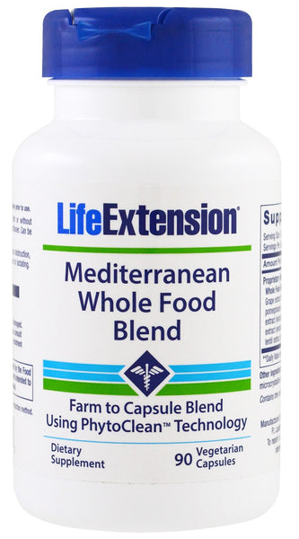 Mediterranean Whole Food Blend - 90 vcaps