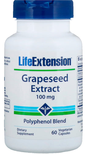 Grapeseed Extract, 100mg - 60 vcaps