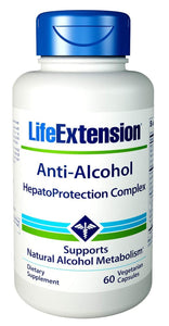 Anti-Alcohol HepatoProtection Complex - 60 vcaps