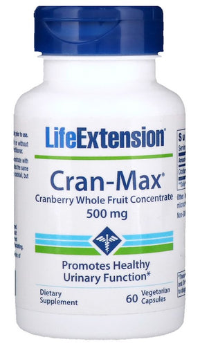 Cran-Max Cranberry Whole Fruit Concentrate, 500mg - 60 vcaps