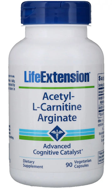 Acetyl-L-Carnitine Arginate - 90 vcaps