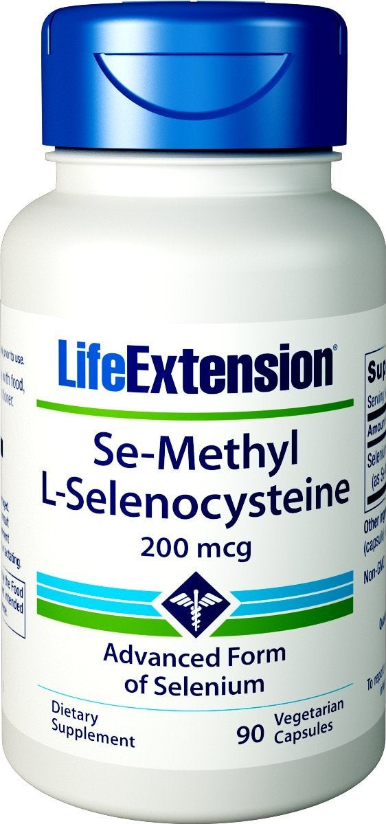 Se-Methyl L-Selenocysteine, 200mcg - 90 vcaps