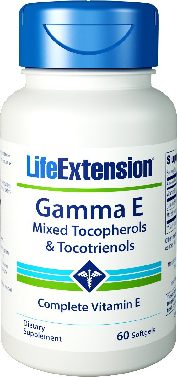 Gamma E Mixed Tocopherols & Tocotrienols - 60 softgels
