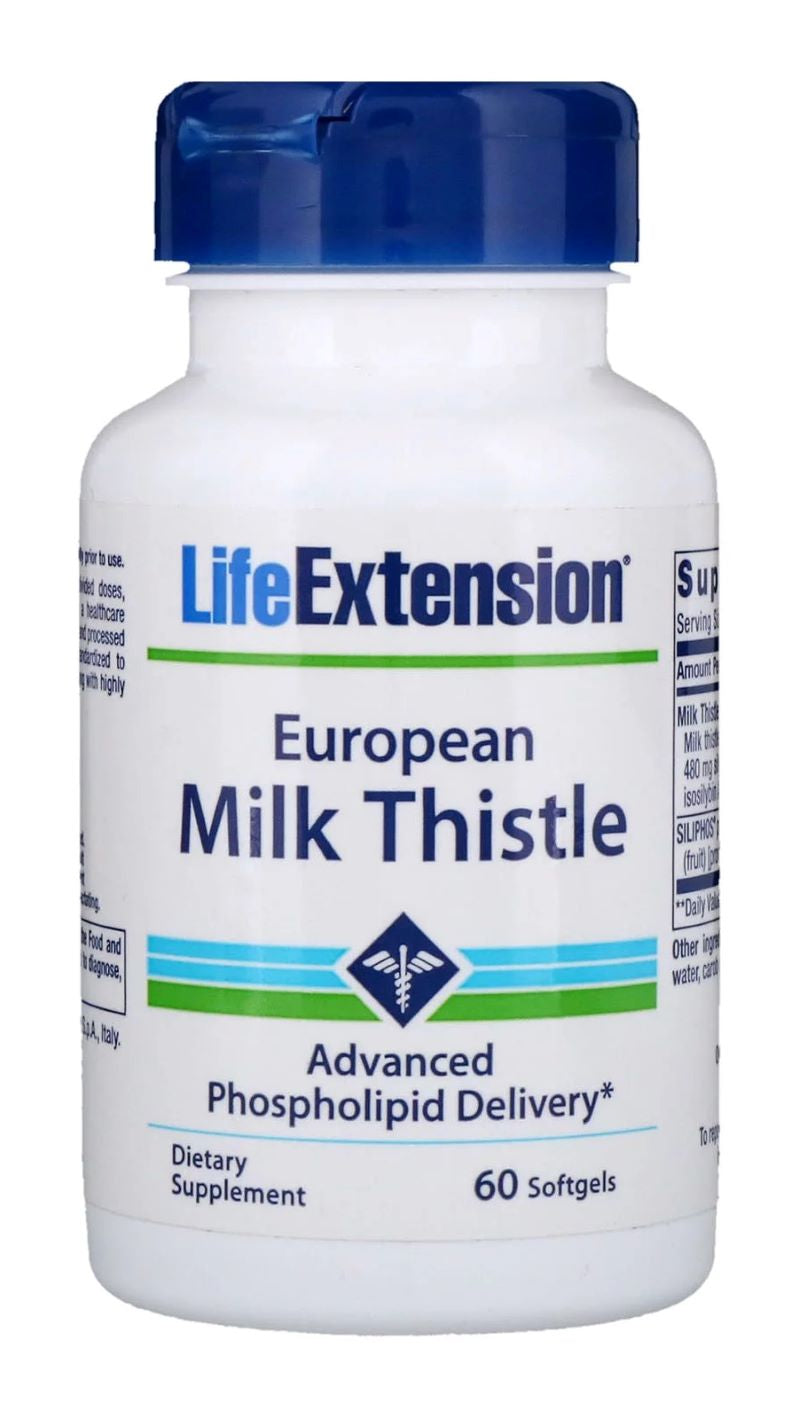 European Milk Thistle - 60 softgels
