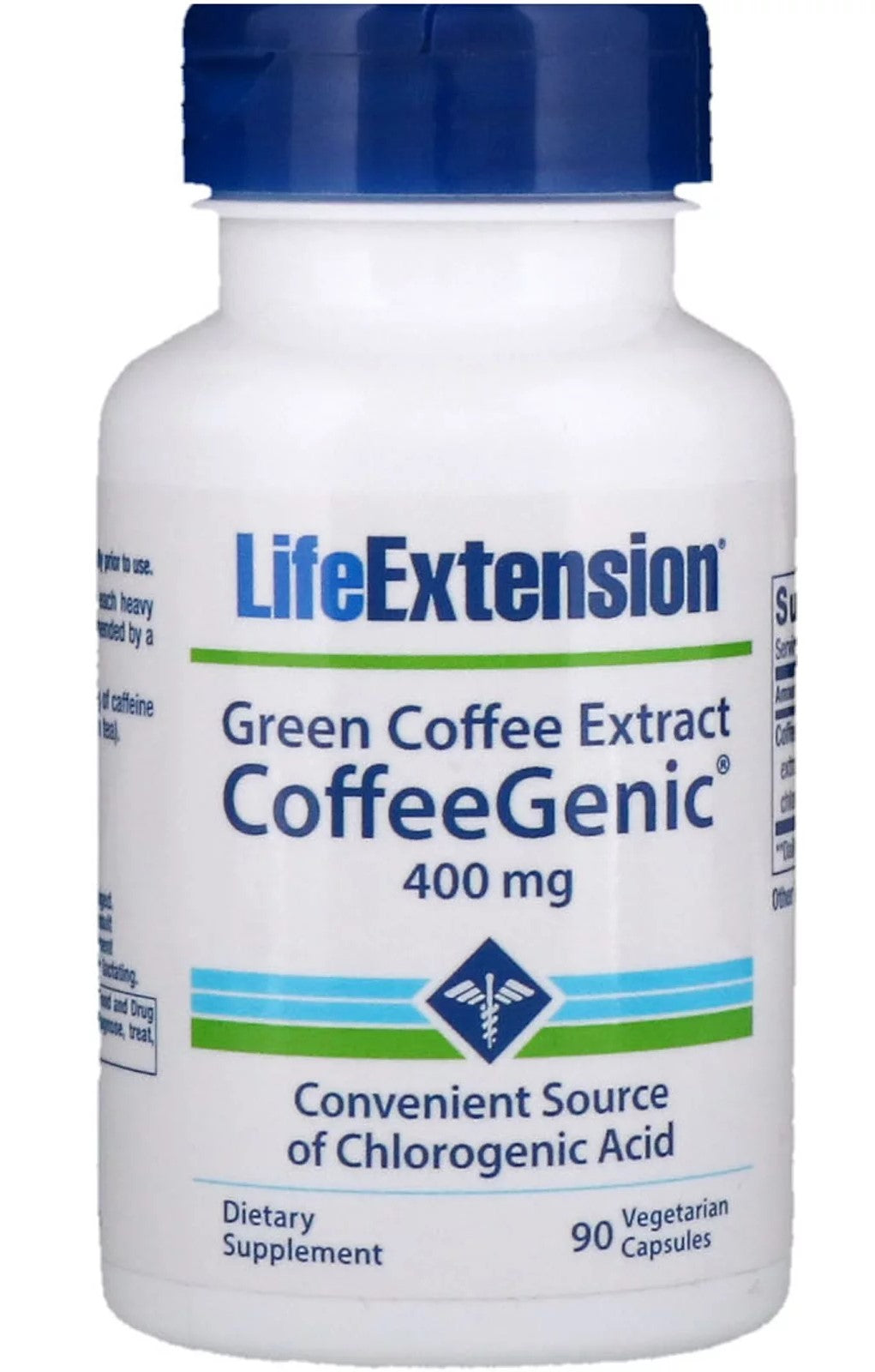 CoffeeGenic, Green Coffee Extract, 400 mg - 90 vcaps