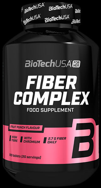 Fiber Complex, Fruit Punch - 120 tablets