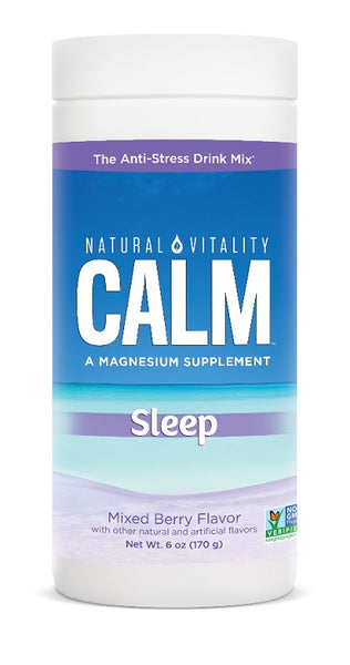 Natural Calm Specifics - Calmful Sleep, Mixed Berry - 170 grams