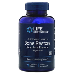 Bone Restore, Chocolate - 60 chewable tablets