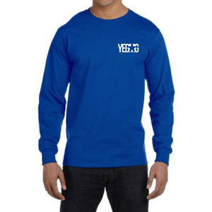 YEGMG BLUE LONG SLEEVE