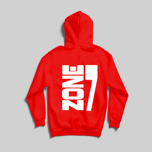YEGMG RED & WHITE STAR HOODIE