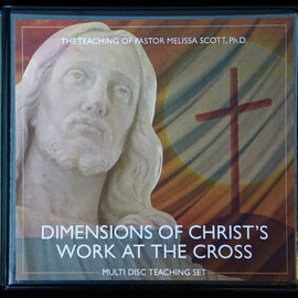 Dimensions of Christ's work at the Cross 12 DVD Set