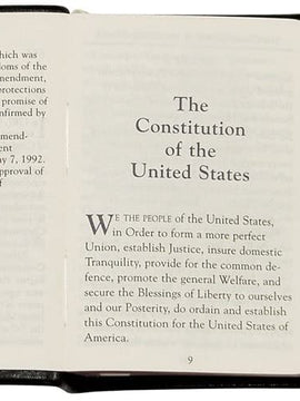 Miniature United States Constitution